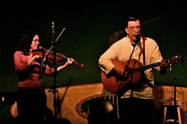 Zavelenna Huscroft and James Keelaghan